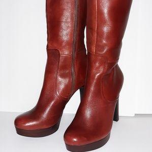 Genuine leather Giannini Boots